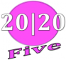 20/20 Five Logo