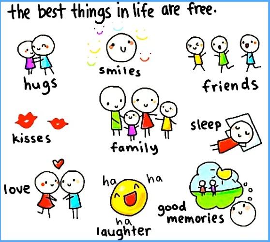 The Best Things in Life Are Free - Life's Good