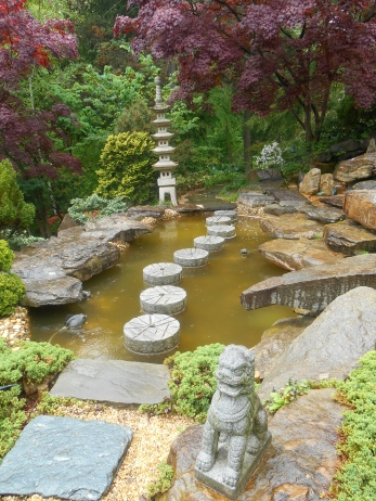 Part of the Japanese Garden